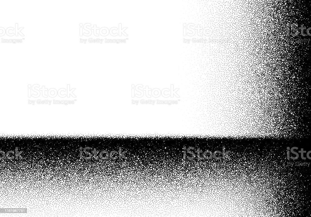 Abstrakter Hintergrund mit Schichten von verstreuten Punkten - Lizenzfrei Abstrakt Vektorgrafik