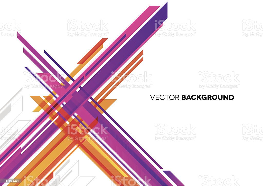 Abstract Background with Lines vector art illustration