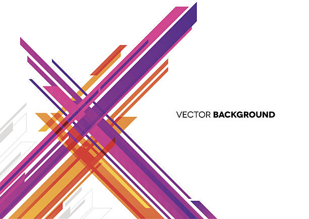 abstract background with lines - acute angle stock illustrations