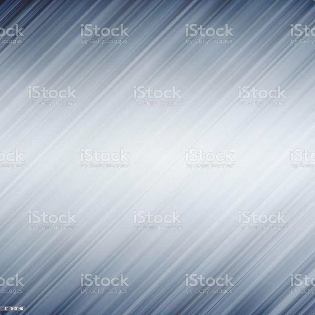 Fondo abstracto con textura del metal. Líneas diagonales. - ilustración de arte vectorial