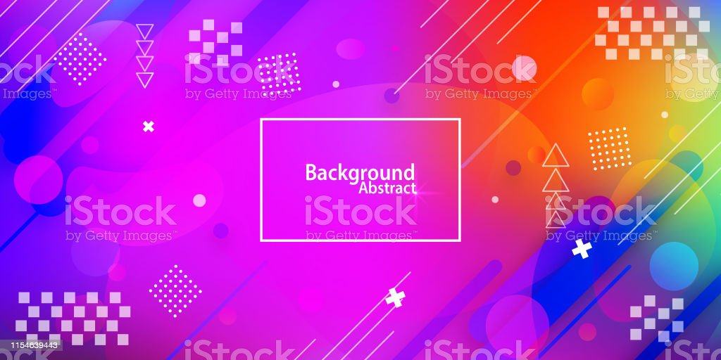 abstract background with Multi Colored gradient