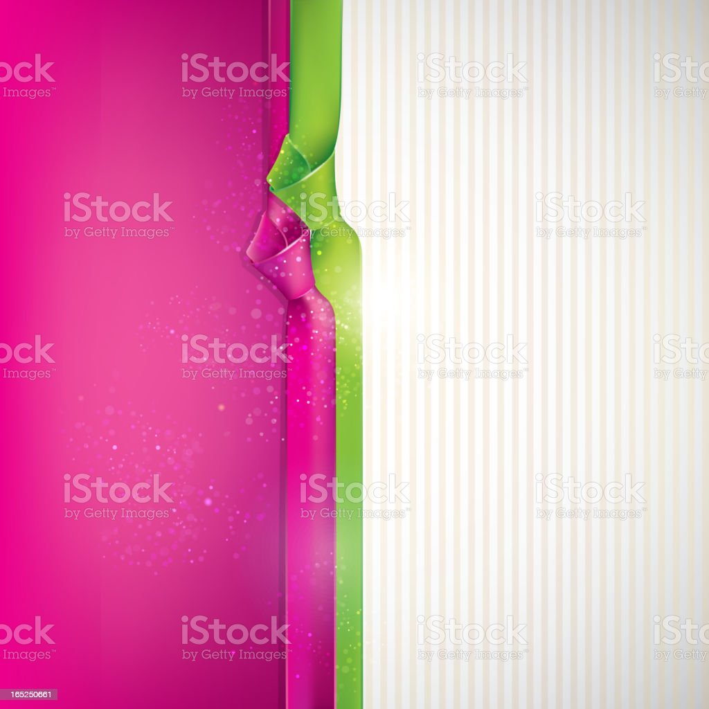 abstract background with multicolored ribbons royalty-free stock vector art