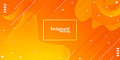 abstract background with orange and yellow gradient