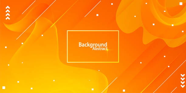 abstract background with orange and yellow gradient abstract background with orange and yellow gradient abstract drawings stock illustrations