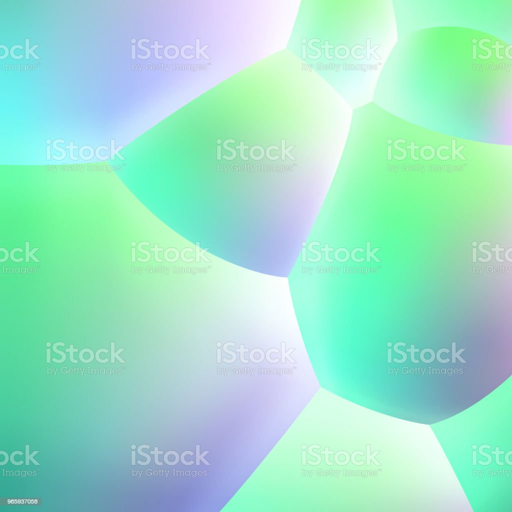 Abstract background with pearlescent soft bubbles balls - Royalty-free Abstract stock vector