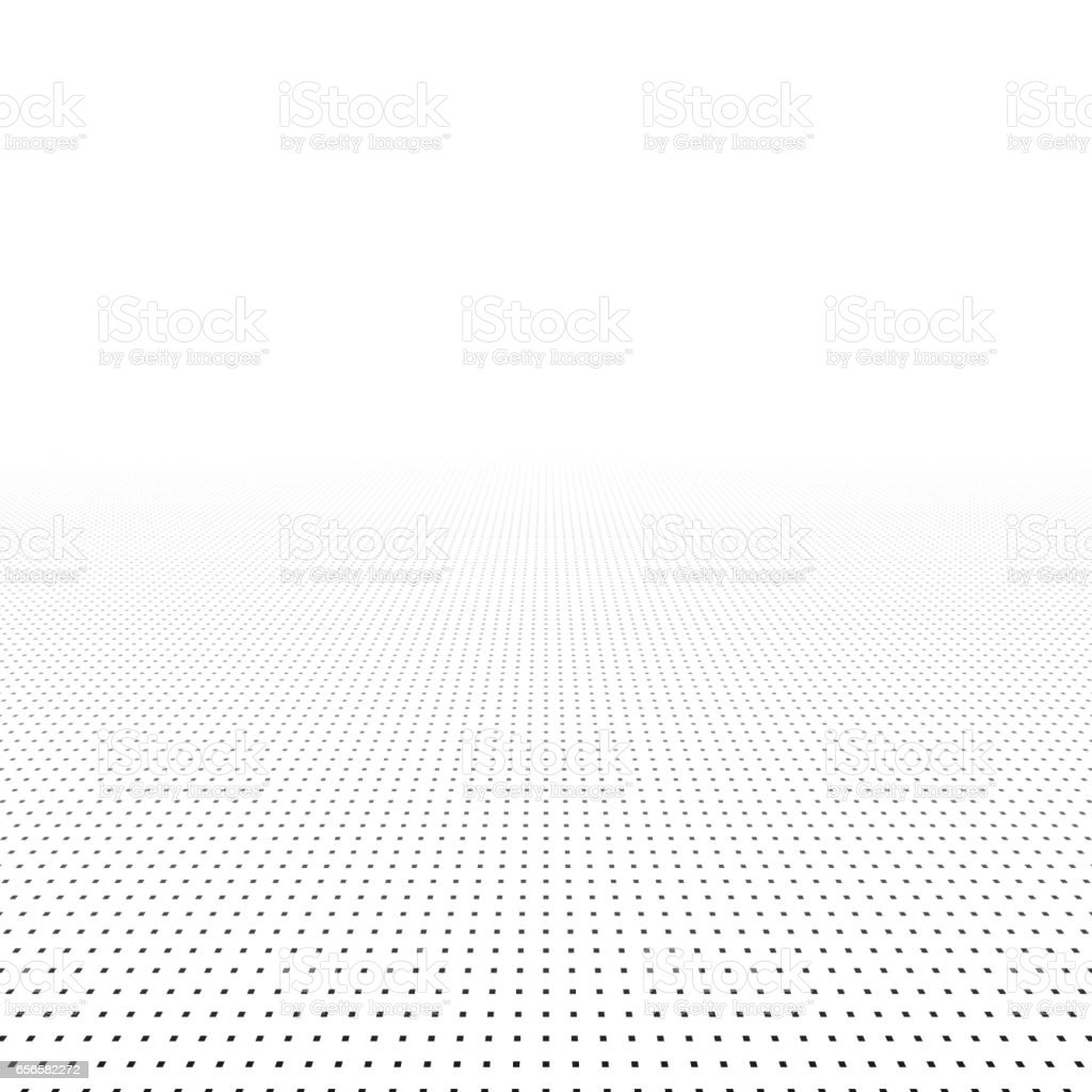 Abstract background with perspective. vector art illustration