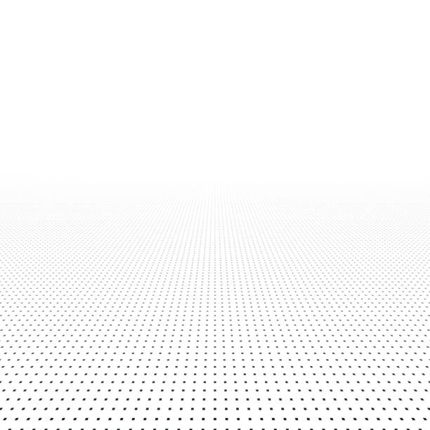 abstract background with perspective. - horyzont stock illustrations