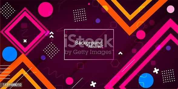abstract background with purple & blue gradient