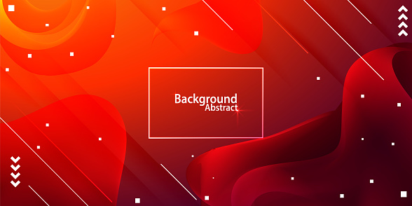 abstract background with red gradient