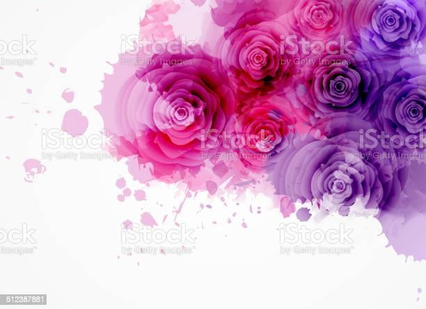Abstract background with roses vector id512387881?b=1&k=6&m=512387881&s=612x612&h= yncfv3ofbm24dsybzznp0v oa5bpc9gkkletzzrpno=