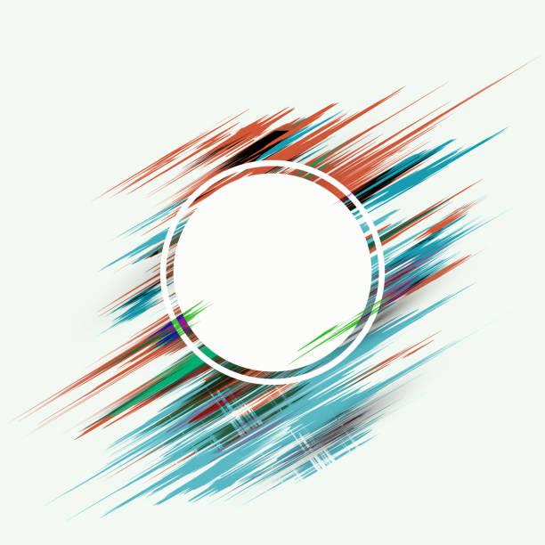 帶有塗片和斑點的 eps10 向量的抽象背景向量藝術插圖