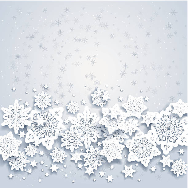 Abstract background with snowflakes Abstract background with snowflakes. Space for your text commercial event stock illustrations