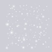 Abstract background with stars