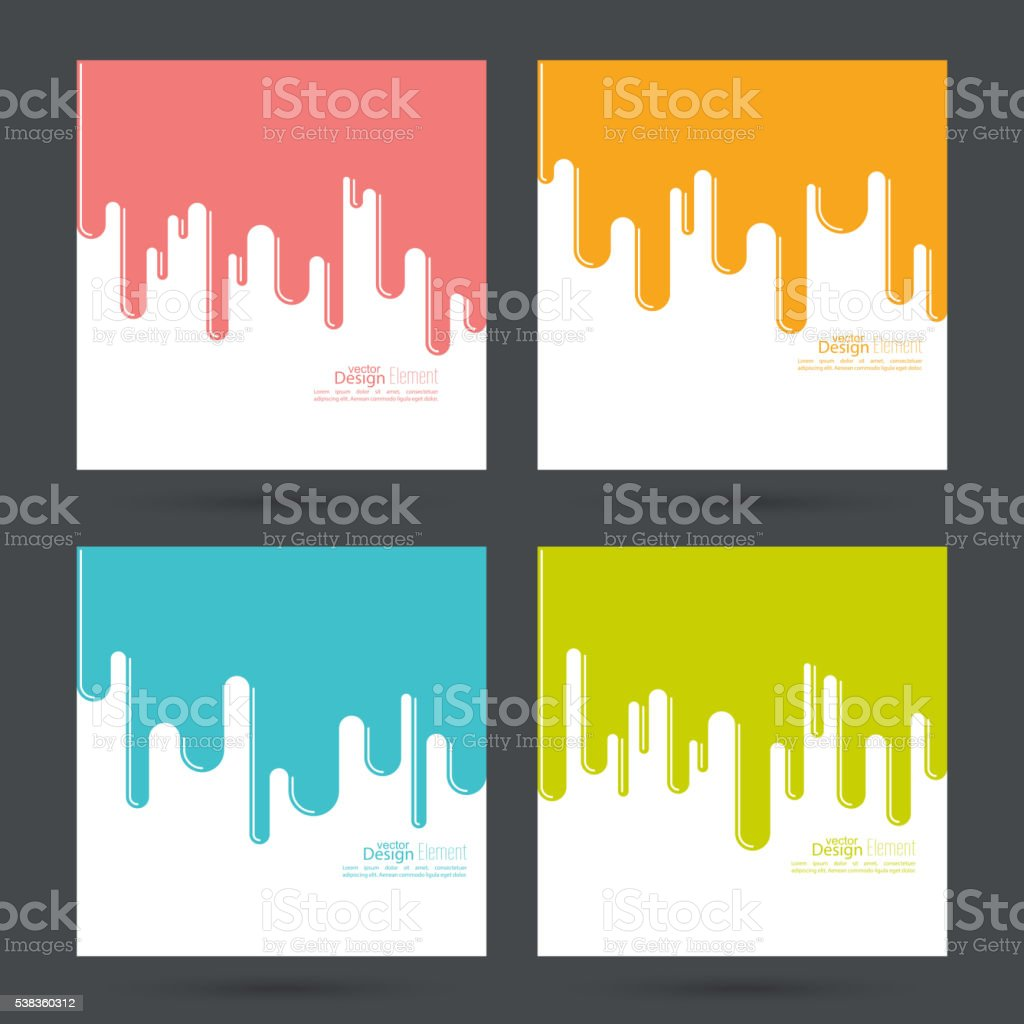 Abstract background with streaks, vector art illustration