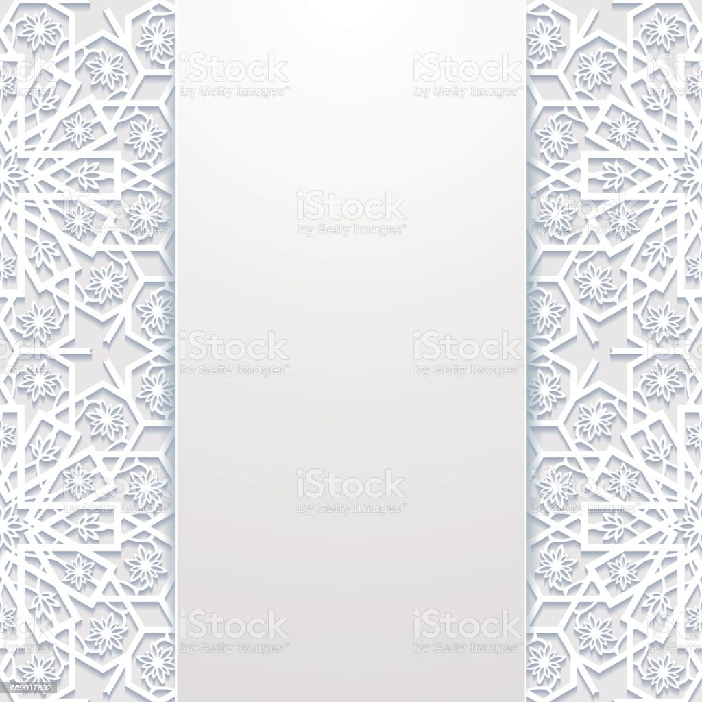 Abstract background with traditional ornament royalty-free abstract background with traditional ornament stock vector art & more images of abstract