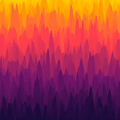 Modern and trendy abstract background, can be used for your design, with space for your text (colors used: Yellow, Orange, Red, Pink, Purple, Black). Vector Illustration (EPS10, well layered and grouped), format (1:1). Easy to edit, manipulate, resize or colorize.