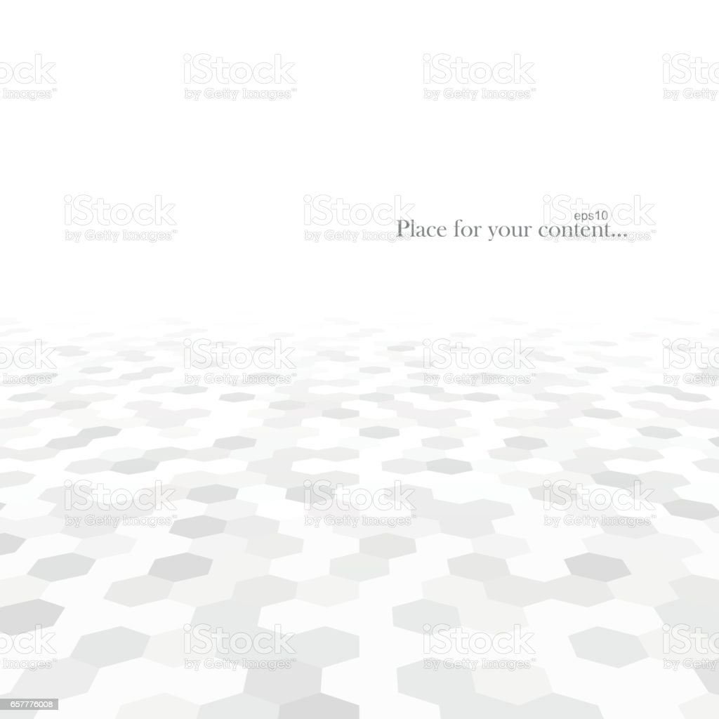 Abstract background with white shapes. vector art illustration