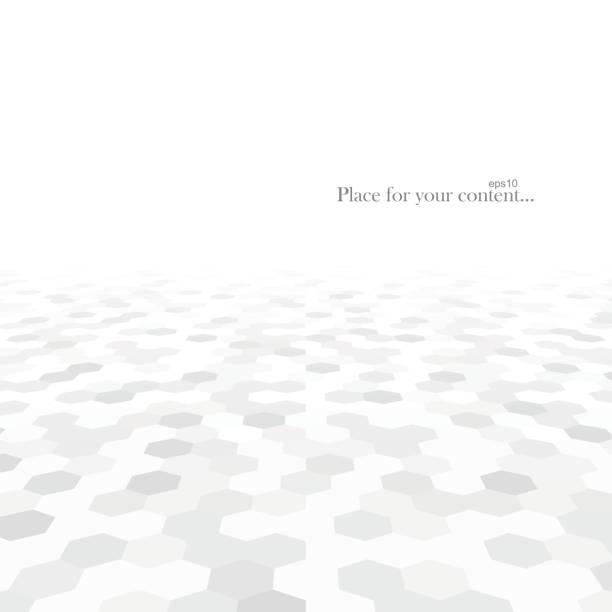 Zusammenfassung Hintergrund mit weißen Formen. – Vektorgrafik
