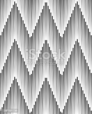 istock Abstract Background ZigZag Black Lines 1287591735