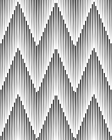 Abstract Background ZigZag Black Lines