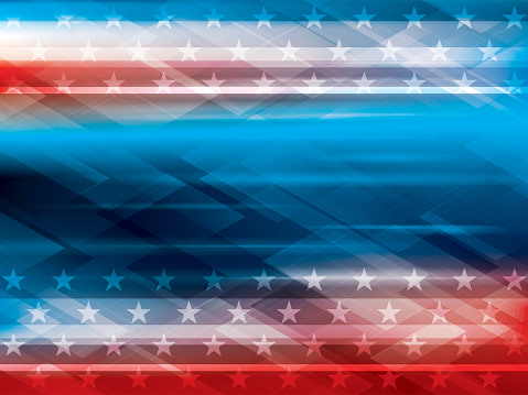 Abstract Backgrounds Independence Usa Stock Illustration - Download Image Now