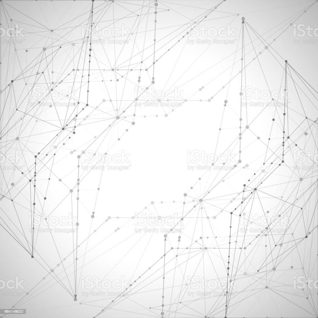 Abstract backgrounds of molecules light gray lines abstract backgrounds of molecules light gray lines - stockowe grafiki wektorowe i więcej obrazów abstrakcja royalty-free
