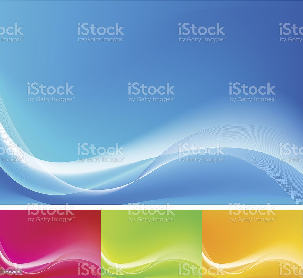 Abstract backgrounds - Royalty-free Abstract stock vector