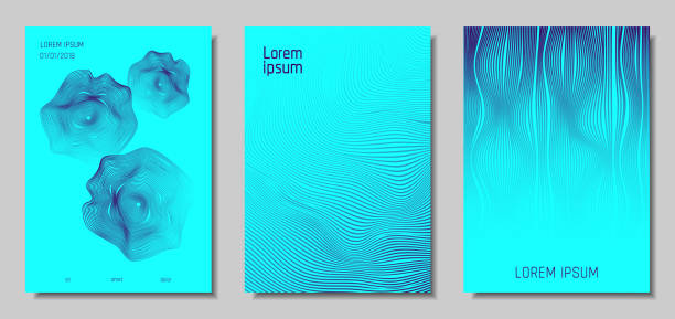 abstract backgrounds with 3d effect. - rytm stock illustrations