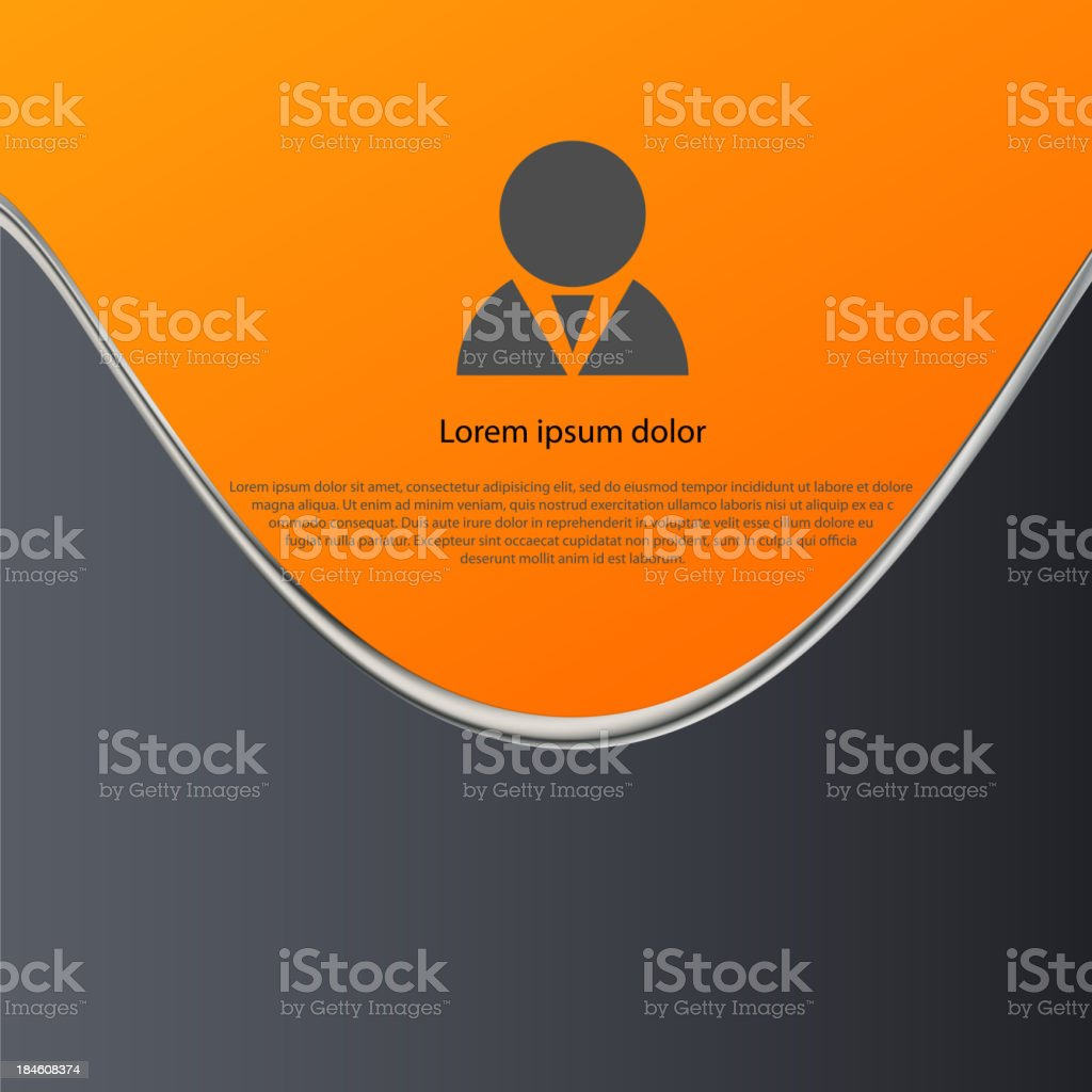 Abstract backgrounds with a space for text royalty-free stock vector art