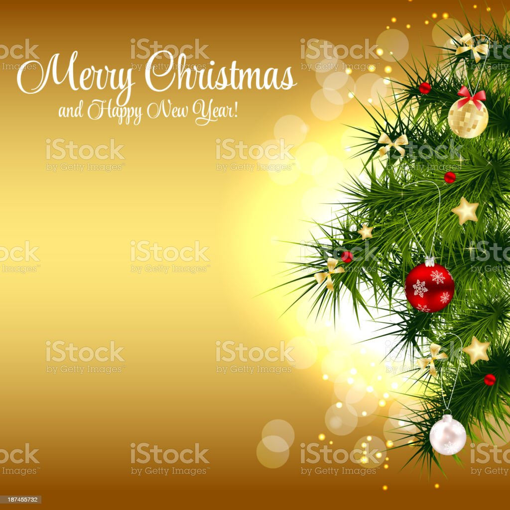 abstract beauty christmas and new year background vector illust royalty free abstract beauty christmas