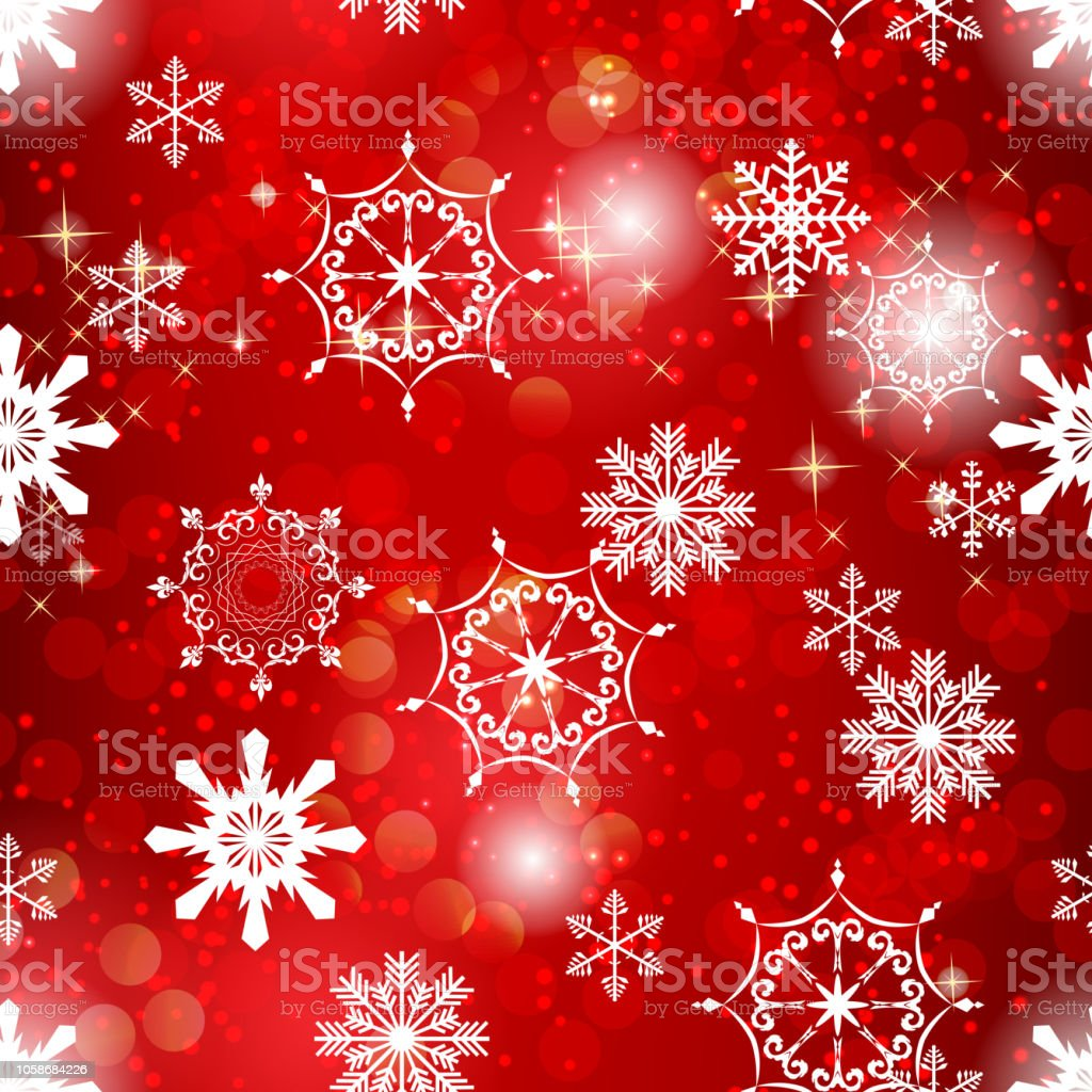 abstract beauty christmas and new year background with snow and snowflakes vector illustration royalty