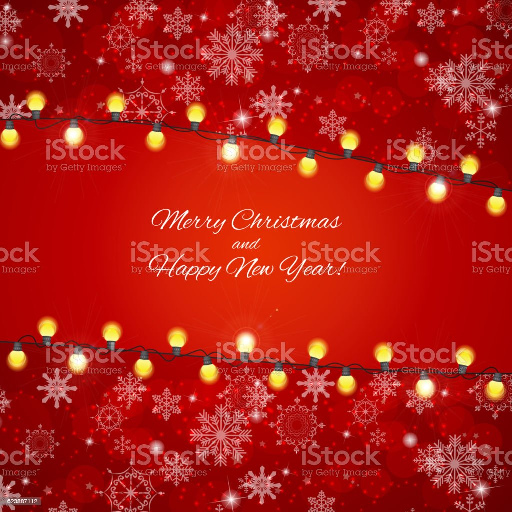 Abstrakte Schönheit Fröhliche Weihnachten Und Neujahr Hintergrund ...