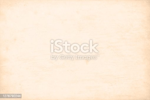 Horizontal vector illustration of fawn coloured crepe paper like grunge background that has scratches and subtle pattern of fine lines or strokes allover.