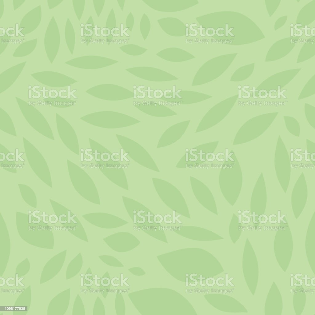 Abstract biconvex leave shapes seamless vector background. Green background pattern. Convex scattered shapes. Great background for websites, banners, on fabric, paper, wallpaper, cards. For men, boys vector art illustration
