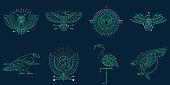 istock Abstract bird illustration 1308281548