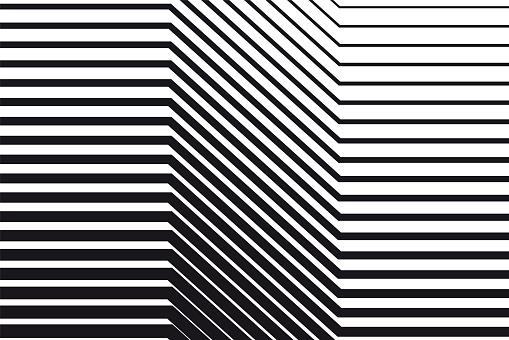 黑白 Op 藝術背景向量圖形及更多傾斜的圖片