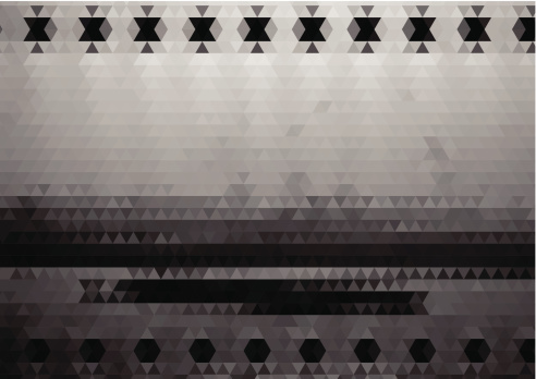 abstract black and white rhombus style landscape  background