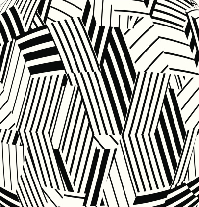 abstract black and white stripe pattern background