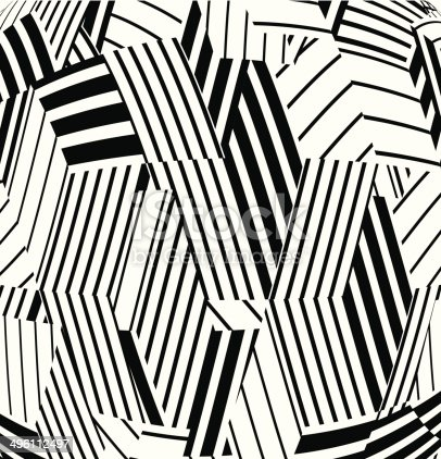 istock abstract black and white stripe pattern background 496112497