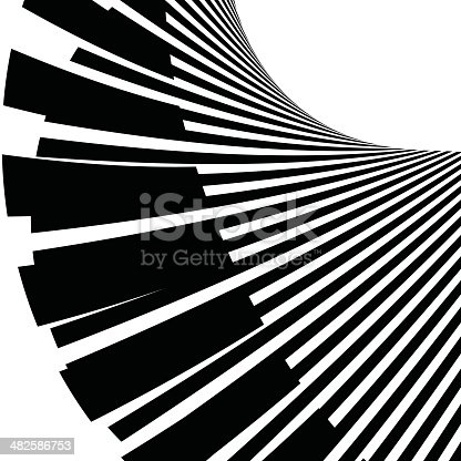istock abstract black and white stripe shape background 482586753