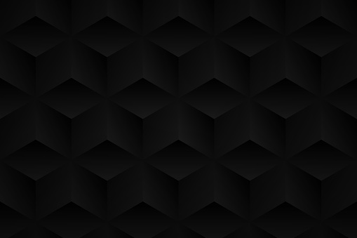 Abstract black background - Geometric texture