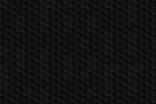 Abstract black background - Geometric texture Modern and trendy abstract background (dark geometric texture), can be used for your design. Vector Illustration (EPS10, well layered and grouped), wide format (3:2). Easy to edit, manipulate, resize or colorize. Please do not hesitate to contact me if you have any questions, or need to customise the illustration. http://www.istockphoto.com/portfolio/bgblue alveolar duct stock illustrations