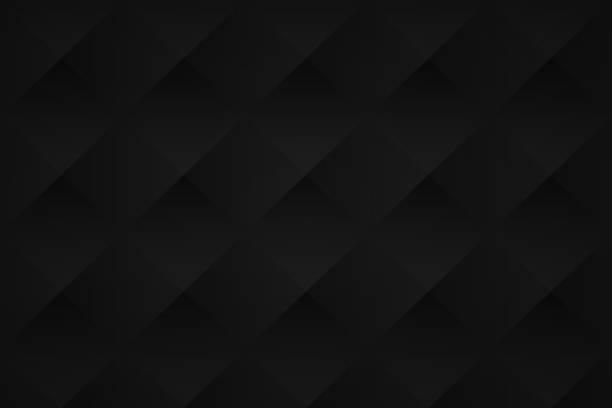 abstrakcyjne czarne tło - geometryczna tekstura - ciemny stock illustrations