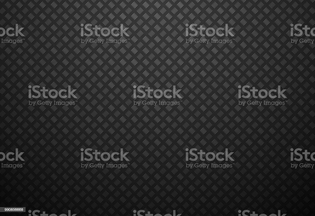 abstract black metal background vector art illustration