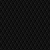 Abstract Black Polygonal Rhombus Background.