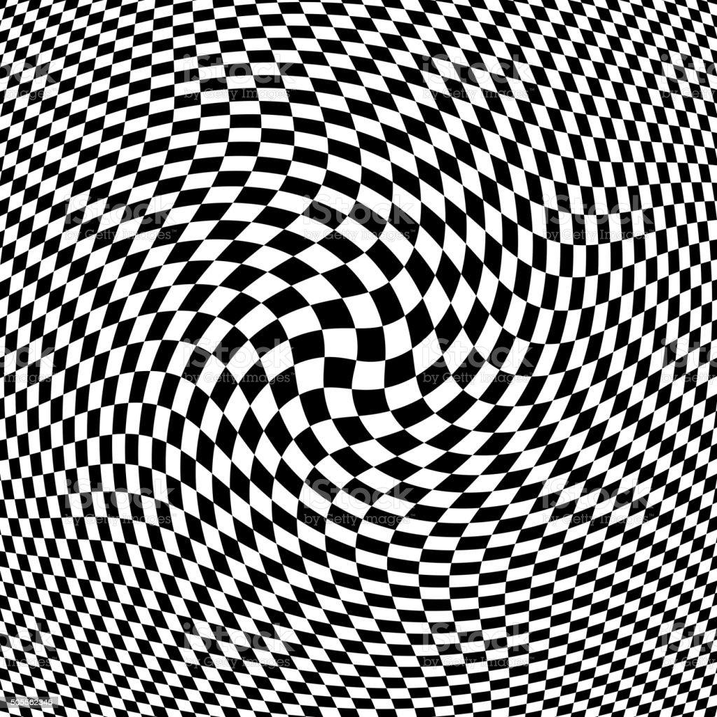 Abstract Black - White Geometric Background. vector art illustration