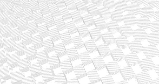 Abstract Blockchain  Background vector art illustration