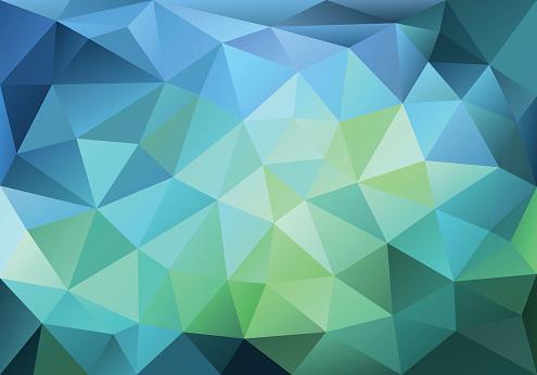 Polygon texture stock illustrations