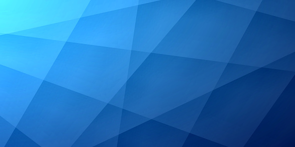 Abstract blue background - Geometric texture