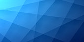 Modern and trendy abstract background. Geometric texture for your design (colors used: blue, black). Vector Illustration (EPS10, well layered and grouped), wide format (2:1). Easy to edit, manipulate, resize or colorize.